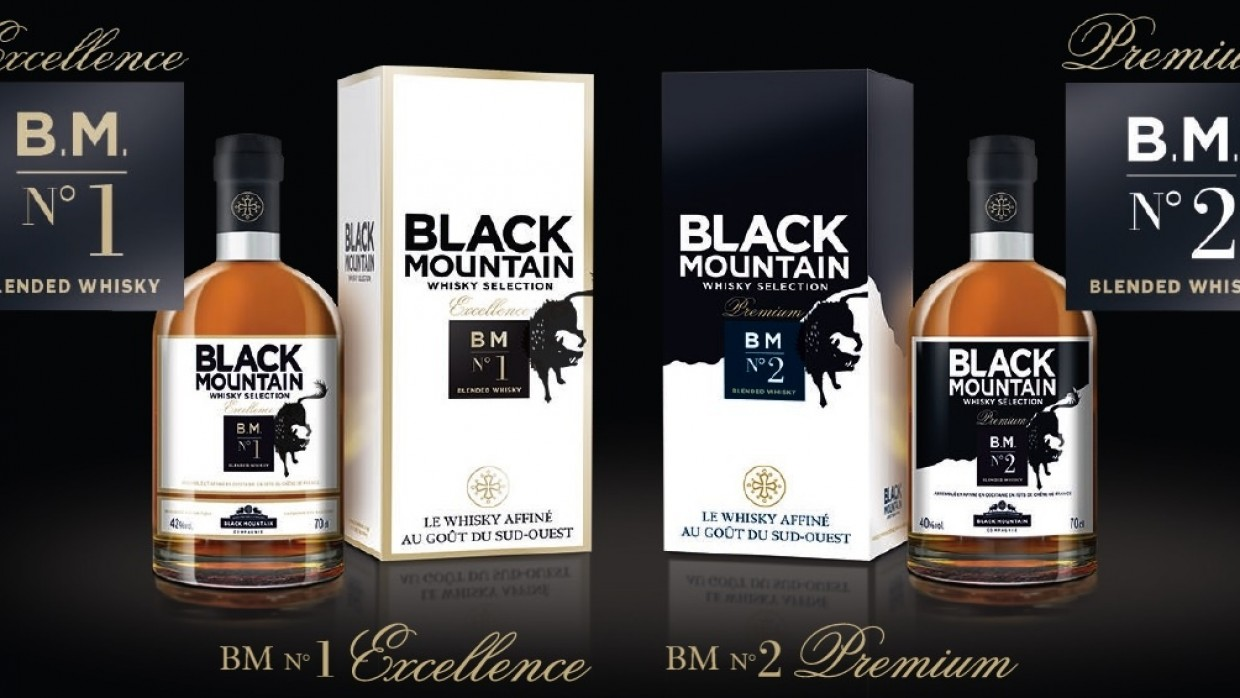 Black Mountain, whiskies au goût du Sud-Ouest !